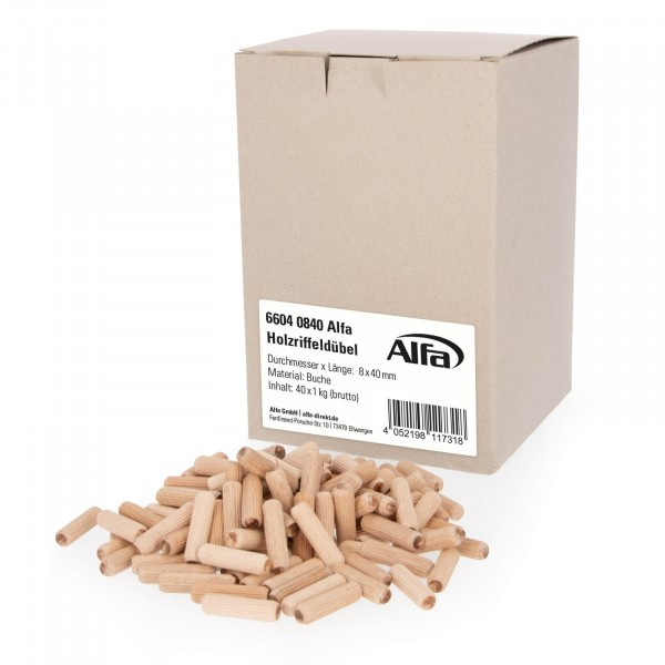 6604 Alfa Holzriffeldübel