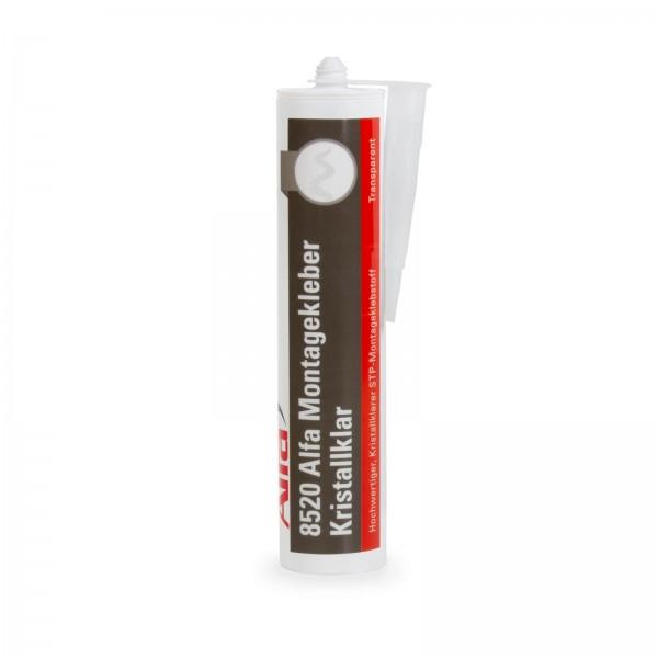 8520 Alfa Montagekleber Kristallklar 300 ml - 2 Stück