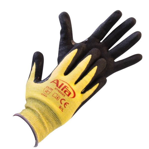 874 Alfa Nitril-Schnittschutzhandschuhe