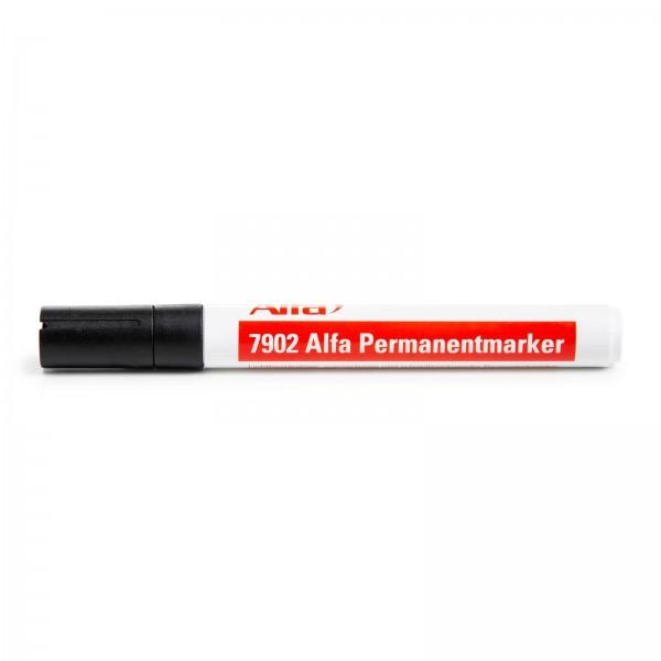 7902 Alfa Permanentmarker schwarz