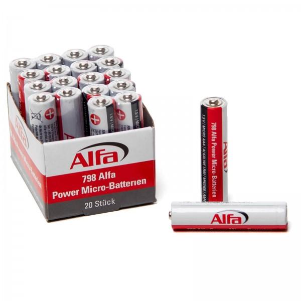 798 Alfa Power Micro-Batterien (AAA)