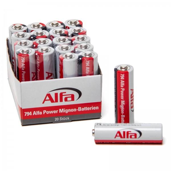 794 Alfa Power Mignon – Batterien (AA)