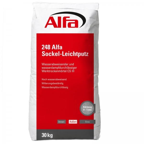 248 Alfa Sockel-Leichtputz