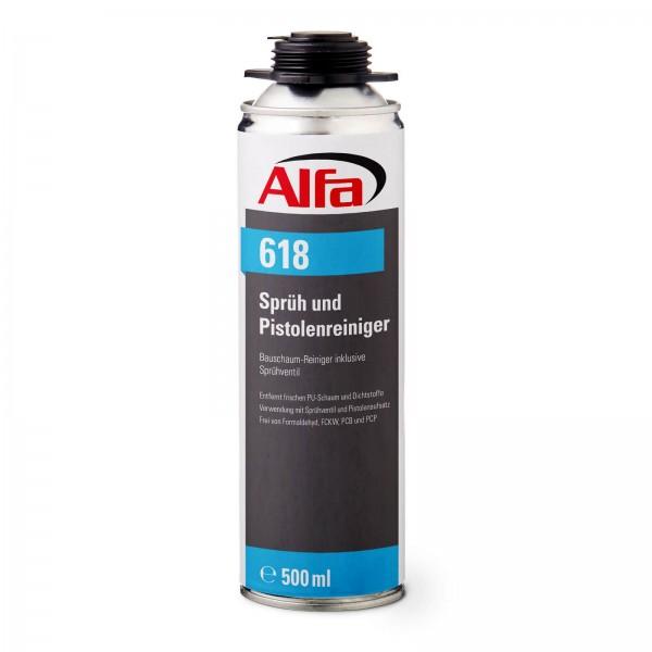618 Alfa Sprüh- & Pistolenreiniger (Universal-Reiniger)