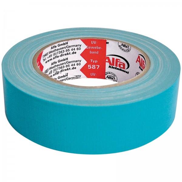 587 Alfa UV-Gewebeband Blau