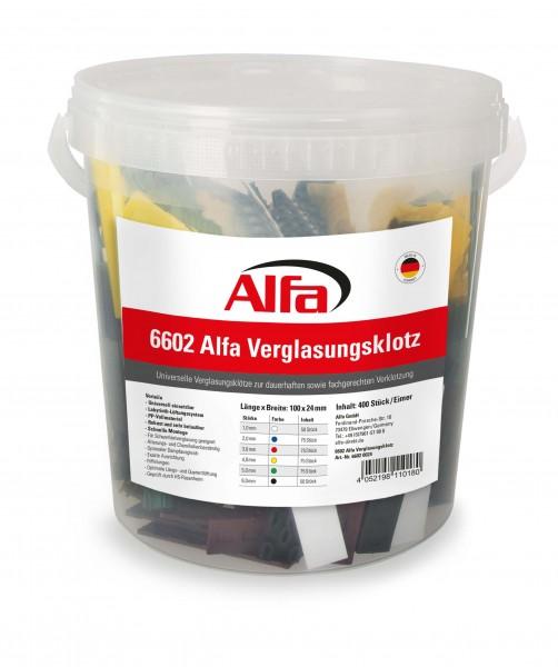 6602 Alfa Verglasungsklotz