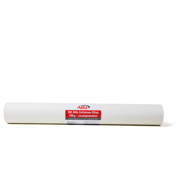 392 Alfa Zellulose-Vlies 150 g - vorpigmentiert