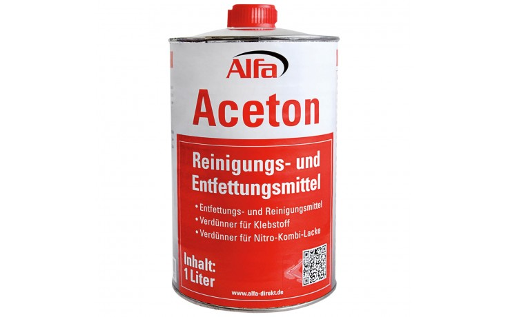 Alfa Aceton Reinigungs- und Entfettungsmittel