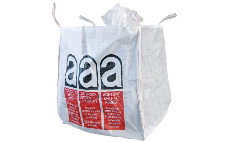 Alfa Big-Bag ASBEST für die Entsorgung von Asbest MileralfasernAlfa Big-Bag ASBEST für die Entsorgung von Asbest Mineralfasern