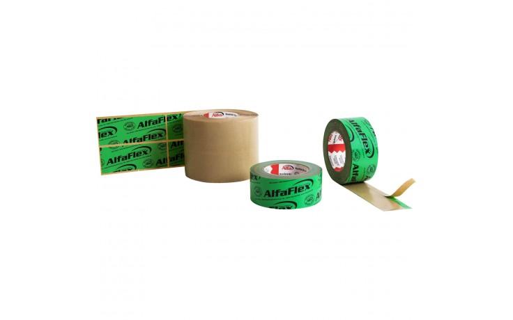 Alfa Flex Folienklebeband als praktische Dichtpflaster oder als gewöhnliche Klebebandrolle am Stück