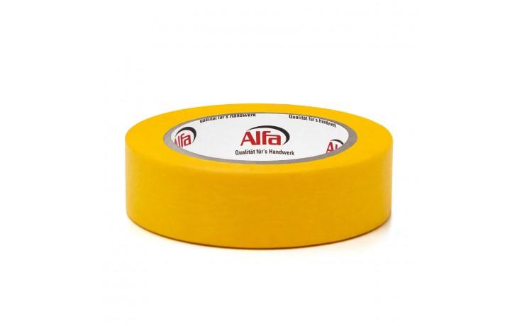 521 Alfa FineLine GOLD ist in den Breiten 18,25,30,38 & 50 mm erhältlich.