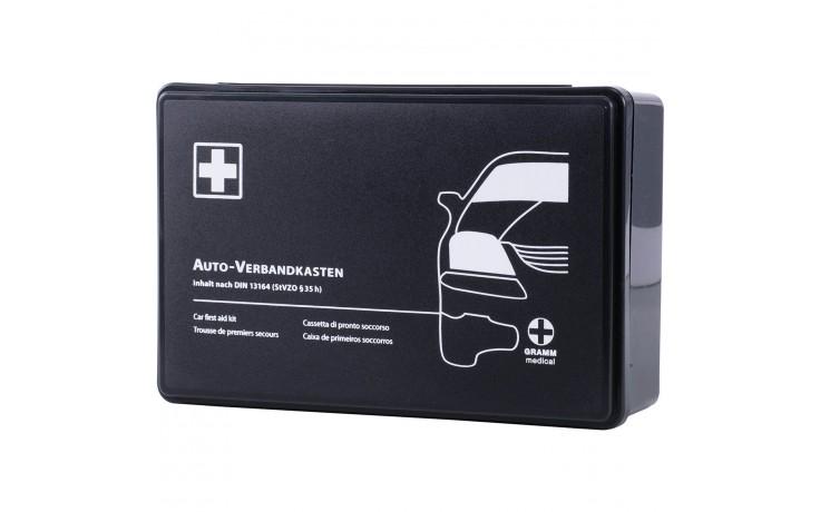 Erste-Hilfe Verbandskasten für Kraftfahrzeuge nach DIN 13 164:2014