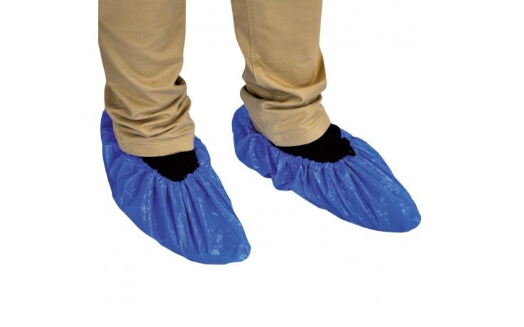 Aus robustem CPE und universell für alle Schuhgrößen. Geprägte Oberfläche bietet erhöhte Sicherheit.