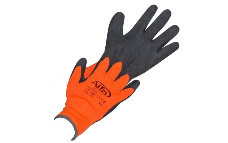 Latex beschichteter Terry-Schlingen-Handschuh für kalte Tage