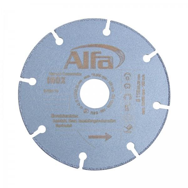 6763 Alfa Diamant-Trennscheibe INOX