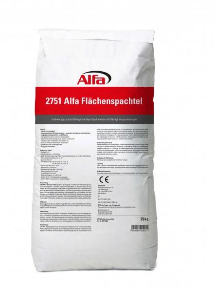 2751 Alfa Flächenspachtel 25 kg - VE1 - 1 Stück