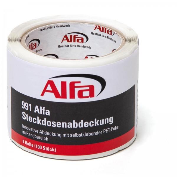 991 Alfa Steckdosenabdeckung