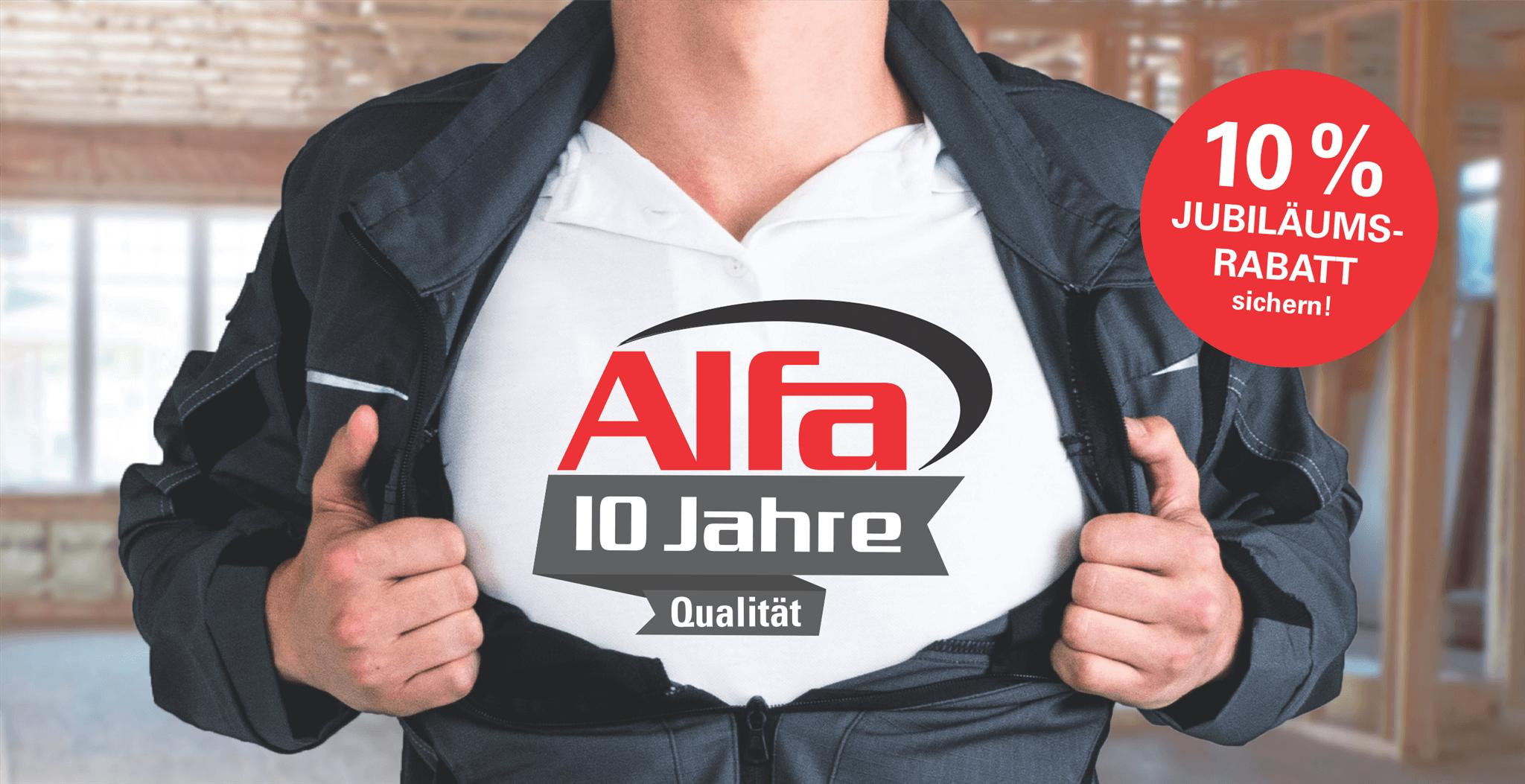 10 Jahre Alfa