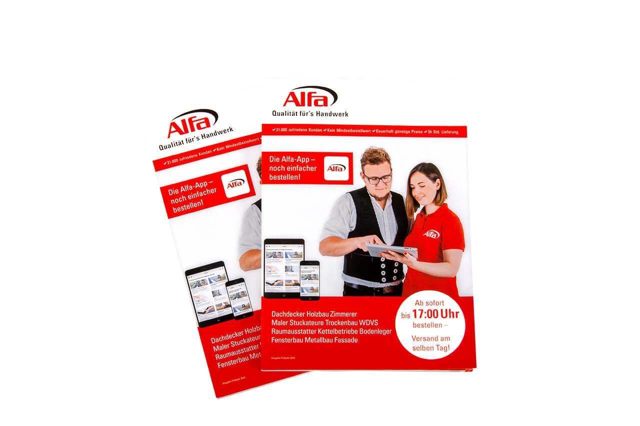 Alfa Direkt Katalog Frühjahr 2018