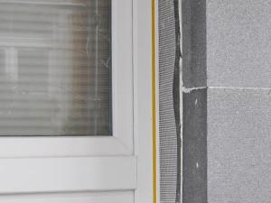 Anputzleiste FLEXO mit Gewebe, Schutzlippe selbstklebendes Dichtungsprofil