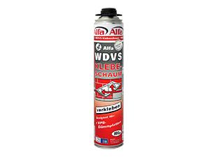 WDVS-Klebeschaum für die sichere Verklebung von Fassadendämmplatten