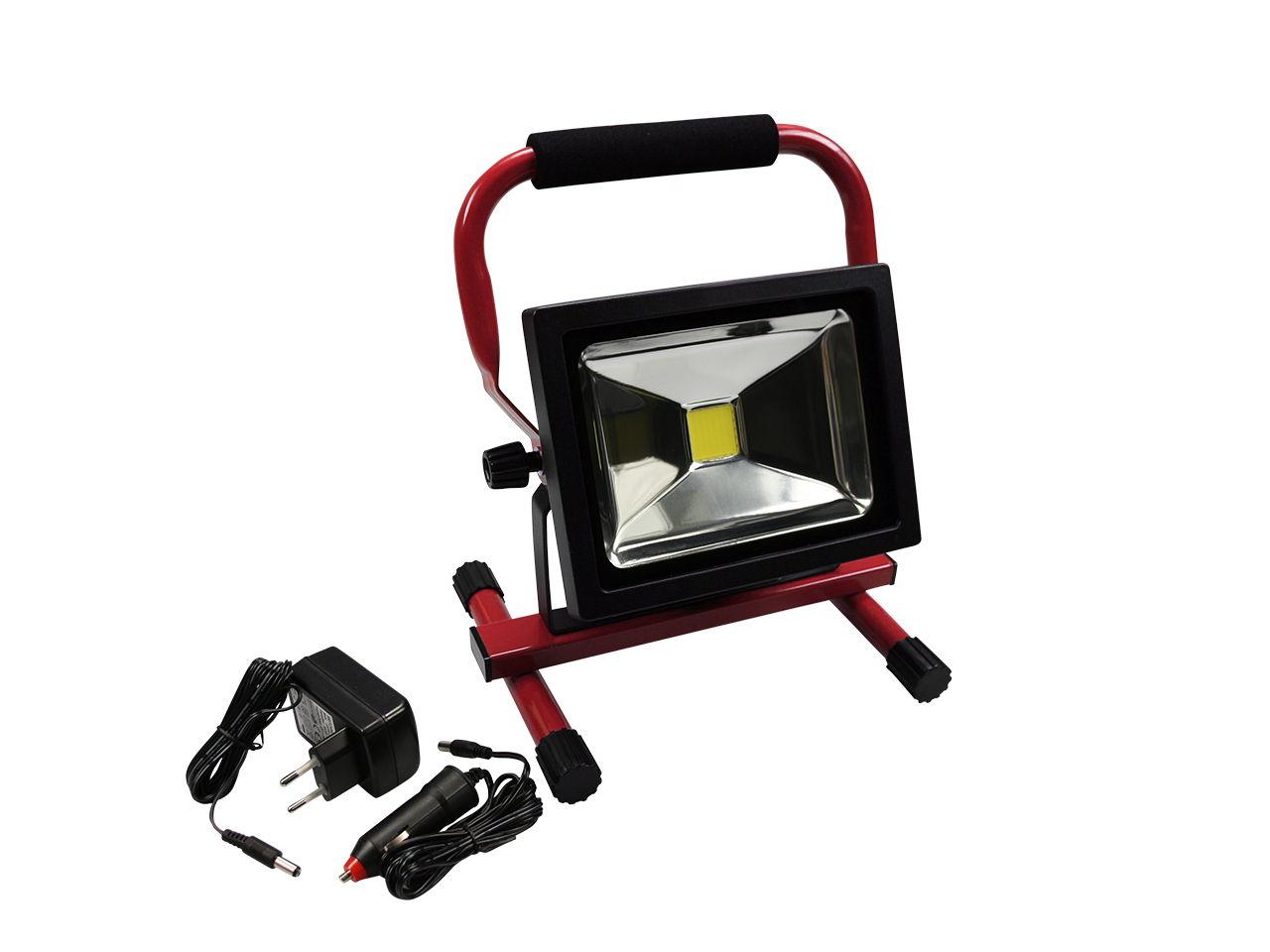 671 Alfa LED Baustrahler 20 W mit Akku