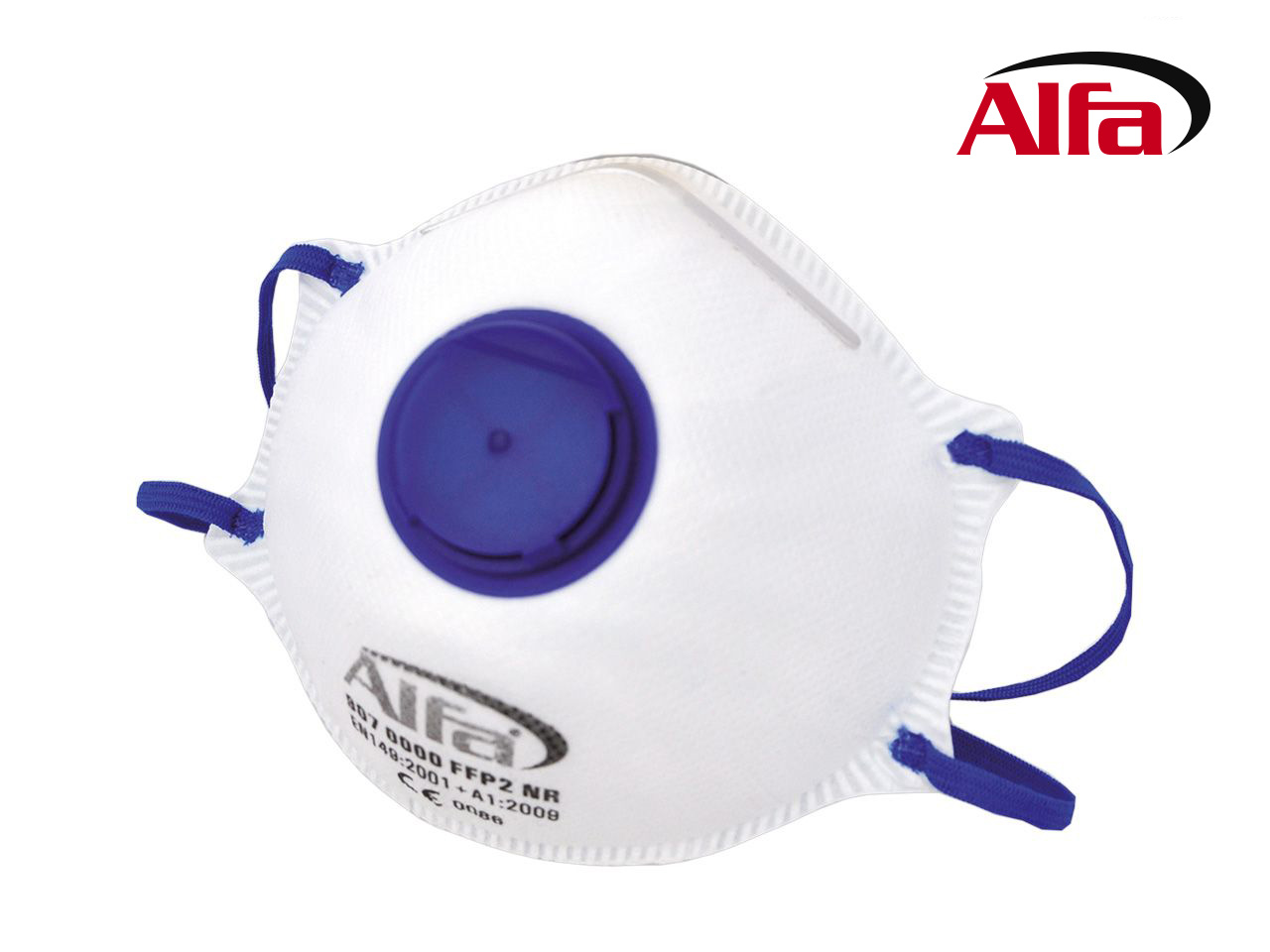907 Alfa Feinstaubmaske FFP2